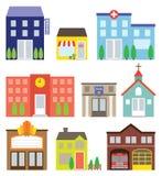 byggande set stock illustrationer
