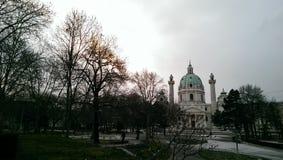 Byggande sikt i Wien Royaltyfri Fotografi