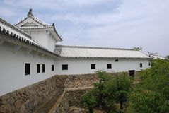 byggande slott himeji japan Royaltyfri Fotografi