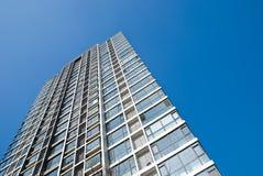 byggande stigning för högt kontor Royaltyfri Fotografi