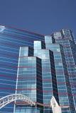 byggande stigning för högt kontor Royaltyfri Bild