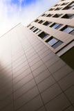 byggande stigning för högt kontor Arkivfoton