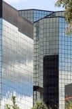 byggande stigning för högt kontor Fotografering för Bildbyråer