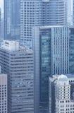 byggande stigning för högt kontor Royaltyfria Foton