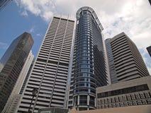 byggande stigning singapore för högt kontor Royaltyfri Foto