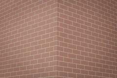 Byggande vägg för röd tegelsten av textur arkivfoto