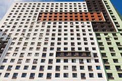 byggande yttermodernt kontor Arkivbild