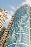 byggande yttermodernt kontor philadelphia Arkivfoton