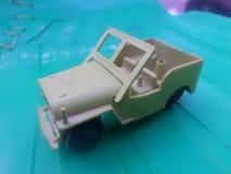 Byggandet för jeep för USA-armé arkivfoto