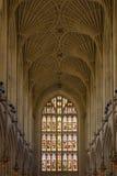 byggd abbeybadbyggnad färgade använda för england historiskt honungsten Arkivfoton