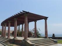 Byggd struktur med tio klassiska kolonner, Lima Royaltyfria Foton