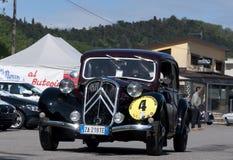 1934 byggde Citroen dragkraft Avant Royaltyfria Foton