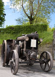 1934 byggde traktoren Landini Royaltyfria Foton