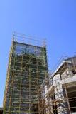 Byggnad är under konstruktion Royaltyfria Foton