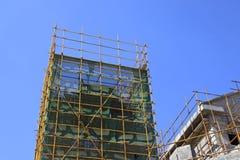 Byggnad är under konstruktion Royaltyfri Foto