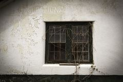Byggnad Abandonded för yrkes- terapi Arkivbilder