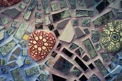 byggnad arbeta i trädgården den glass magiska philadelphia tegelplattan Royaltyfria Bilder