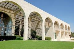 Byggnad av Brigham Young University Jerusalem Center arkivfoto