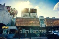 Byggnad av den ryska akademin av bekanta vetenskaper också som royaltyfri bild