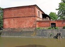 Byggnad av den 5th bestämmelsediversehandeln (lager) av Admiraen Arkivfoton