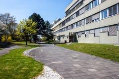 Byggnad av det astronomiska institutet av universitetet i Bonn Fotografering för Bildbyråer