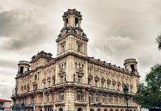 Byggnad av det nationella museet av konster i havannacigarren, Kuba Arkivfoton