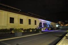 Byggnad av det sjö- arvmuseet, Montenegro royaltyfri foto