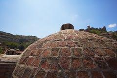 Byggnad av det turkiska badet Arkivfoto