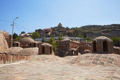 Byggnad av det turkiska badet Arkivbilder