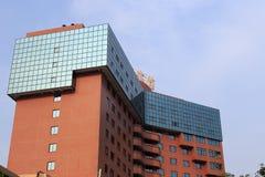 Byggnad av det xiamen hotellet Arkivbild
