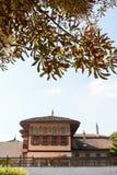 Byggnad av Khans slott (Hansaray), Bakhchisaray Arkivfoto