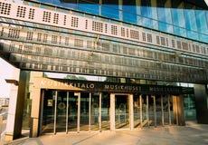 Byggnad av musik Hall Music Centre In Helsinki, Finland Arkivfoto