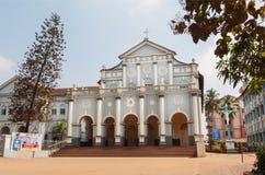 Byggnad av St Aloysius Chapel i gammal Rome stil, byggande i 1878 vid jesuit Arkivbild