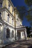 Byggnad av statliga arkiv i Rijeka, Kroatien Arkivbild