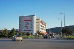 Byggnad av stormarknaden Voli Royaltyfri Bild
