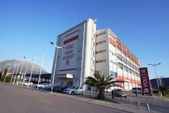 Byggnad av stormarknaden Voli Royaltyfria Bilder