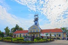 Byggnad av Wieliczka salt min Royaltyfri Bild