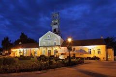 Byggnad av Wieliczka salt min, Polen. Royaltyfria Foton