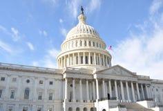 byggnad Capitol Hill Arkivfoto