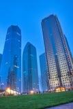 byggnad center finansiella shanghai Arkivfoton