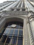 byggnad chicago wrigley fotografering för bildbyråer