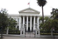 byggnad chile kongress de gamla santiago Royaltyfria Foton