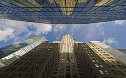 byggnad chrysler New York Royaltyfri Fotografi