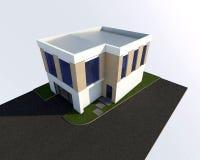 byggnad 3d Arkivbild
