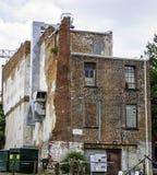 byggnad dilapidated Arkivfoton