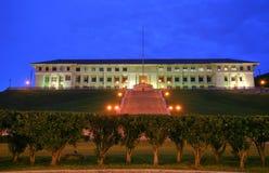 Byggnad för administration för Panama kanal. Arkivbild
