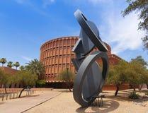 Byggnad för Arizona delstatsuniversitetmusik, Tempe, Arizona Arkivfoton