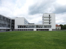 Byggnad 2014 för Dessau TysklandBauhaus Royaltyfria Foton