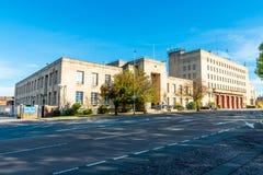 Byggnad för för Northampton brandstation och domstol Royaltyfria Foton