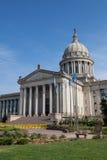Byggnad för för Oklahoma tillståndshus och Capitol Royaltyfria Foton